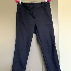 Navy skinny pant